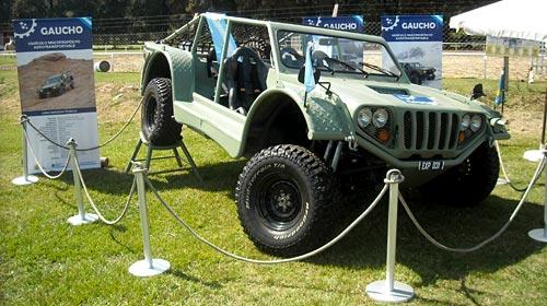 Vehículo militar Gaucho -  Foto: Cosas de Autos Blog