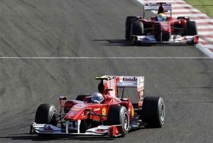 Ferrari hizo el 1-2 en Barhein
