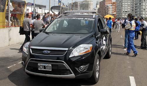 El nuevo Ford Kuga es el auto de seguridad del TC2000
