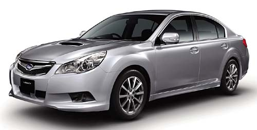 Subaru All New Legacy 2010