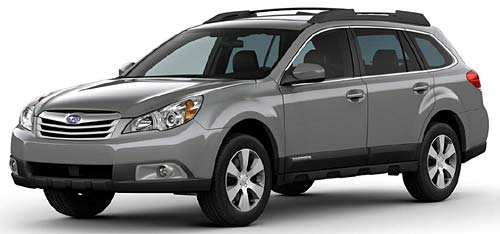 Subaru All New Outback 2010
