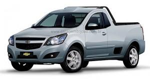 Chevrolet Agile Pickup creada por João Kleber Amaral