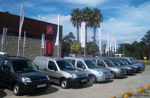 Citroën Berlingo en la presentación a la prensa. Foto: Cosas de Autos