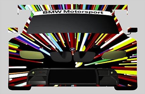 El diseño que propuso Jeff Koons para su BMW Art Car