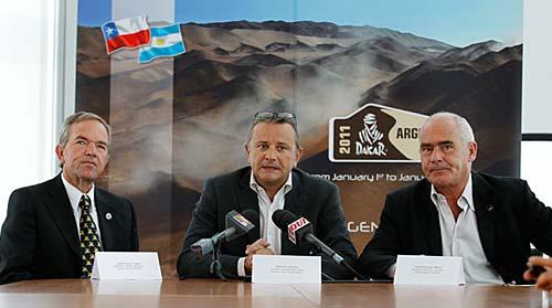 Confirmación del Dakar Argentina-Chile 2011