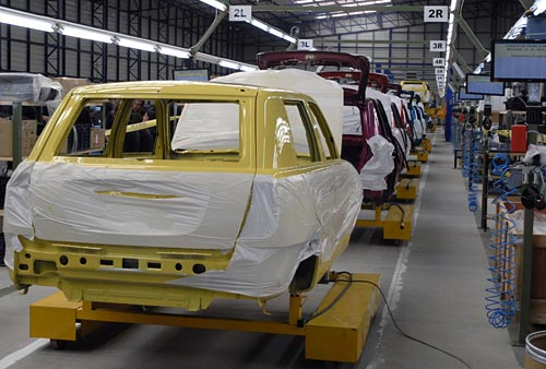 La planta de Effa en San José, Uruguay donde se produce el Lifan 320.