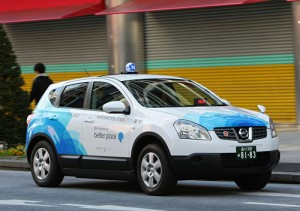 Taxi Nissan Qashqai modificadas por Better Place