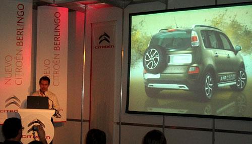 Citroën brindó detalles sobre el Aircross