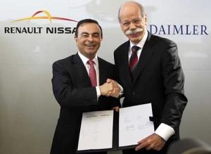 Renault-Nissan y Daimler AG anuncian una cooperación estratégica