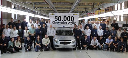 50 mil Chevrolet Agile