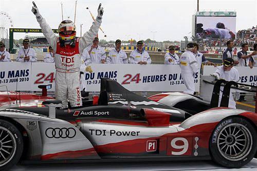 Audi ganó las 24 Horas de Le Mans de 2010