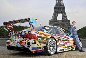 El BMW M3 GT2 art car creado por Jeff Koons
