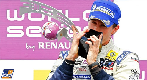 Guerrieri ganó en Brno en las dos carreras de la World Series by Renault.