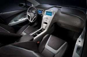 El interior del Chevrolet Volt