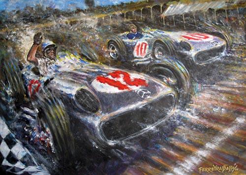Fangio por Jorge Ferreyra Basso.
