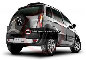 Fiat Idea Adventure 2011