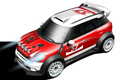 Mini Countryman de WRC