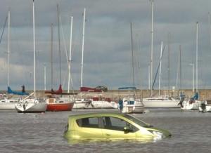 El nuevo Chevrolet Spark en Montevideo. Foto: El País