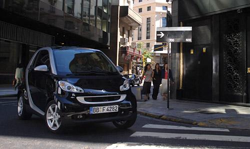 El smart en las calles de Buenos Aires