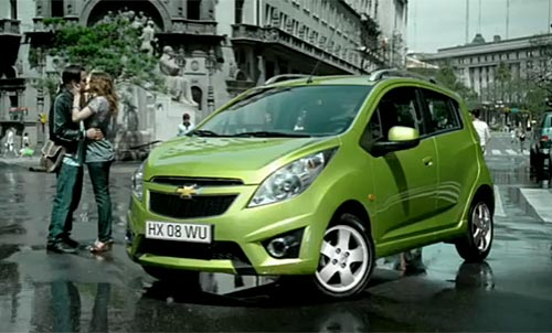 Chevrolet Spark en Diagonal Norte.
