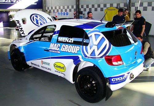 El VW Gol Trend de Claudio Menzi - Foto: Autorotulo (Facebook).