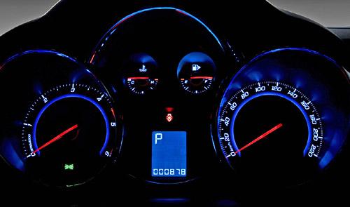 Relojes del Chevrolet Cruze
