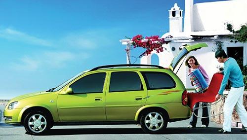 Chevrolet Sail Wagon comercializado hasta el año pasado en China.