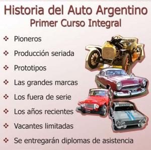 Primer Curso de Historia del Auto argentino