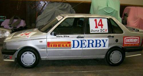 El Fiat Duna de Oltra, hoy.