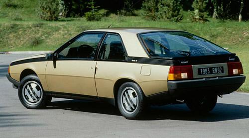 Renault Fuego de 1983