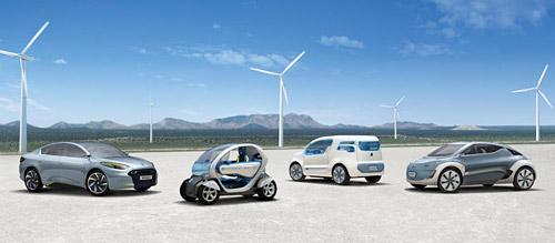 La gama Renault Zero Emission