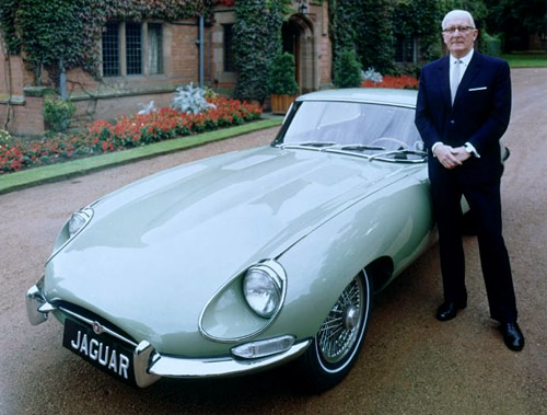 Sir William Lyons y el 4 E-Type