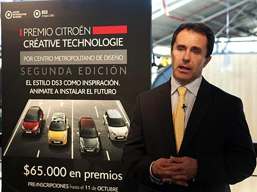 Diego Pizzichini, Director de Marketing de Citroën Argentina