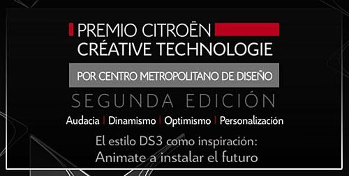 Citroën presentó la segunda edición del concurso Créative Technologie