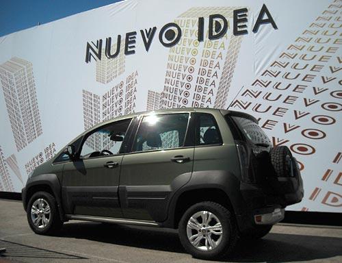 Nuevo fiat idea adventure locker foto cosas de autos for Fiat idea adventure locker precio