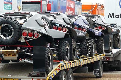 Los McRae Buggy 4x2 en el Dakar 2010 -  Foto: McRae Buggy