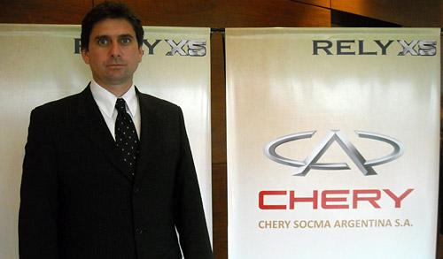 Alejandro Nicolini, Gerente General de Chery Argentina.