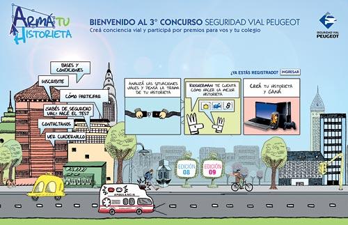Concurso de seguridad vial de Peugeot
