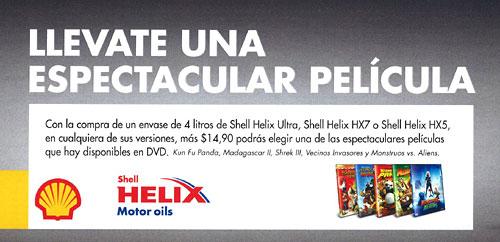 Promo Shell Lubricantes primavera 2010