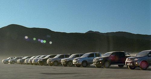 Toyota Hilux Nuevo comercial Mapa