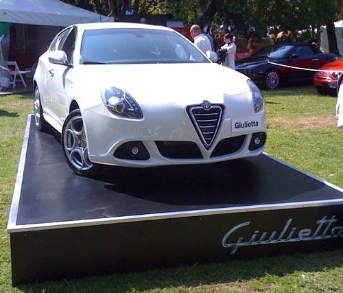 Alfa Romeo Giulietta en Autoclásica - Foto: para F. Cassino para Cosas de Autos
