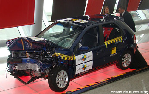 Presentación del LatinNCAP en Montevideo - Foto: Cosas de Autos