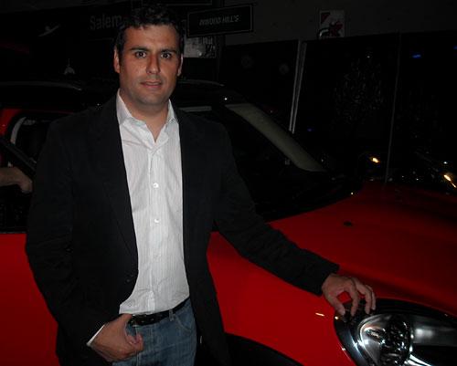 Julián Mallea, MINI Manager en Argentina - Foto: Cosas de Autos Blog