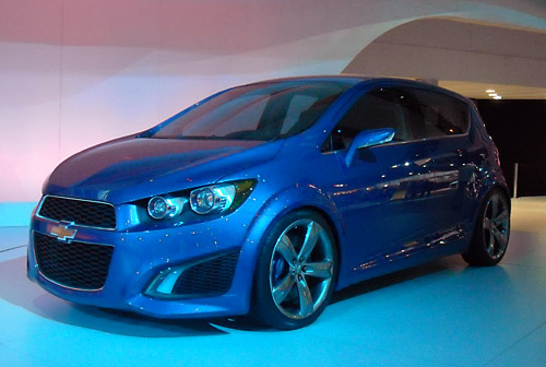Concept car Chevrolet Aveo RS