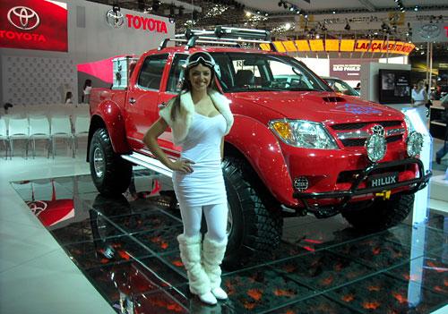 La Toyota Hilux Invincible que conquistó el Polo Norte.
