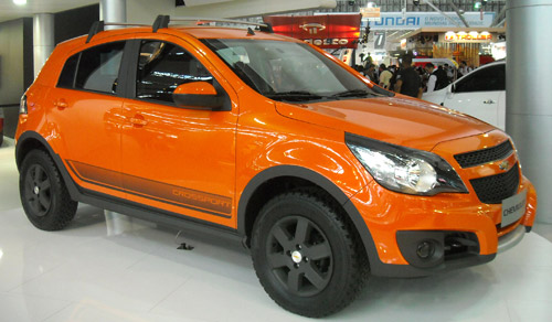 Chevrolet Agile Crossport