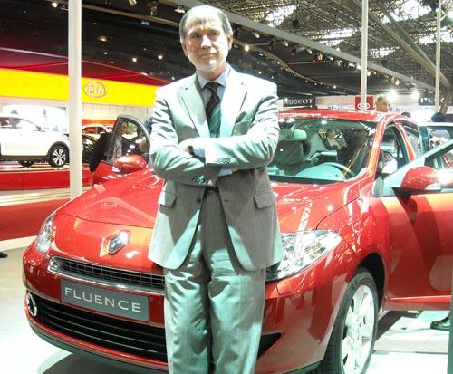 Dominique Maciet, presidente de Renault Argentina