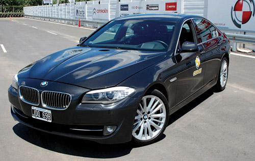 BMW Serie 5, premio a la excelencia en la seguridad 2010