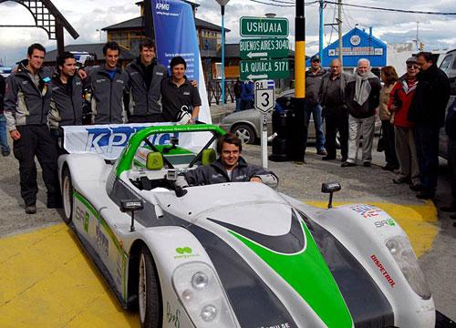 El SRZero llegó a Ushuaia.