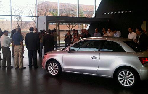 Presentación del Audi A1 en Maipú Exclusivos, concesionario Audi de Córdoba.